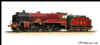 BACHMANN 31-215 LMS 5XP 'Patriot' 5551 'The Unknown Warrior' LMS Lined Crimson *PRE ORDER £ 161.46*